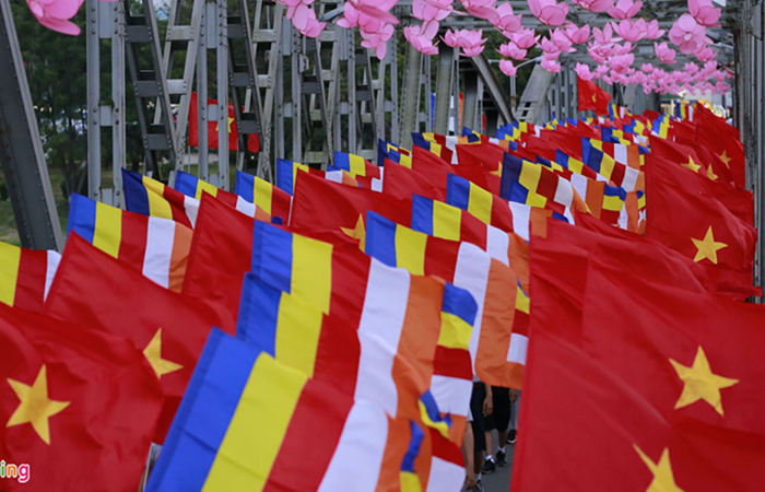 Xưởng may cờ Phật giáo, cờ Phật Đản